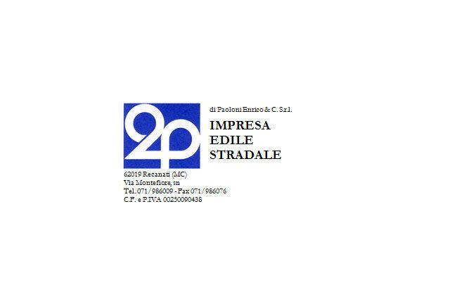 2P di Paoloni Enrico & C. S.r.l. - Consorzio Stabile A.I.CO.